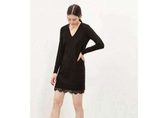 vestidos-cortefiel-negro-con-puntilla