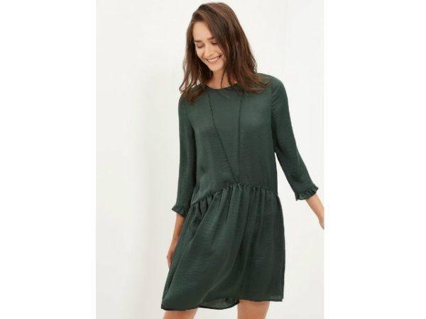 vestidos-cortefiel-verde-botella