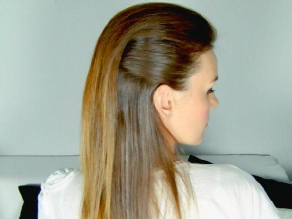 peinados-faciles-semirecogido