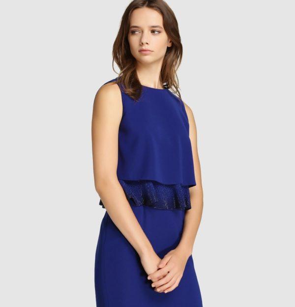 vestidos-de-comunion-para-madres-azul-volante