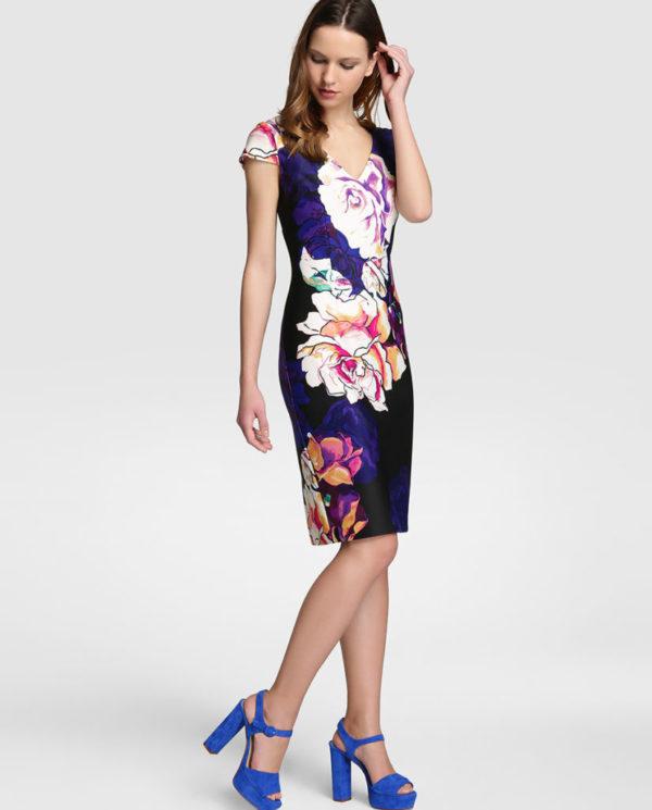 vestidos-de-comunion-para-madres-estampado-flores