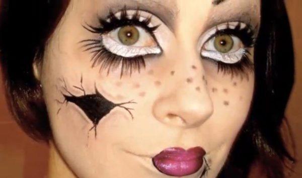 maquillaje-halloween-muneca-rota