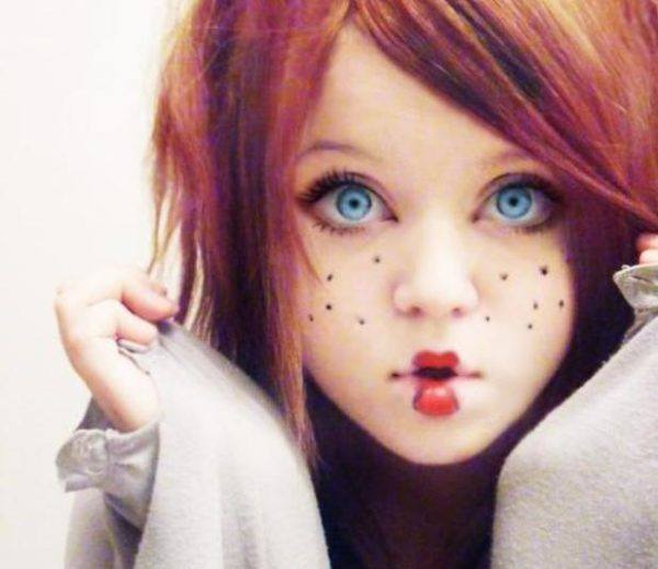 maquillaje-halloween-muneca-sencillo