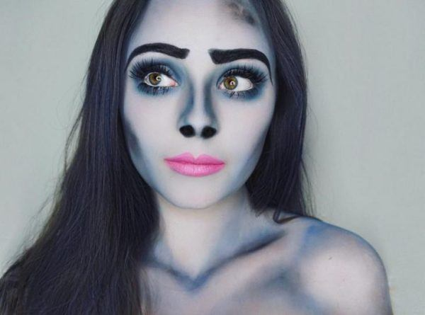 maquillaje-halloween-novia-cadaver-azul-suave