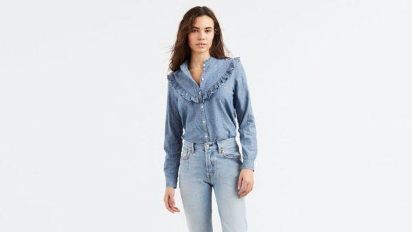 d529a260cb105 Camisas de mujer  tendencias esta Primavera Verano 2019 - ModaEllas.com