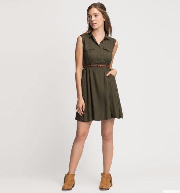 Vestido verde corto verano