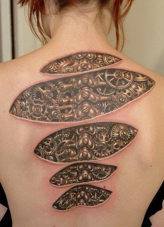 Los Tatuajes En La Espalda Mas Bonitos Para Mujeres Y Su Significado