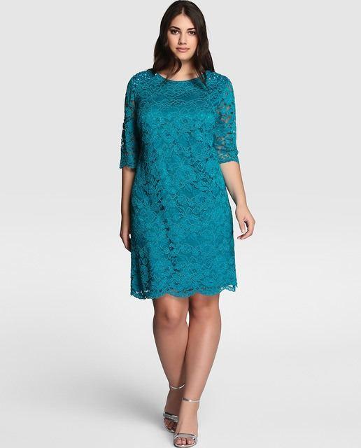 Modelos de vestidos cortos color fucsia