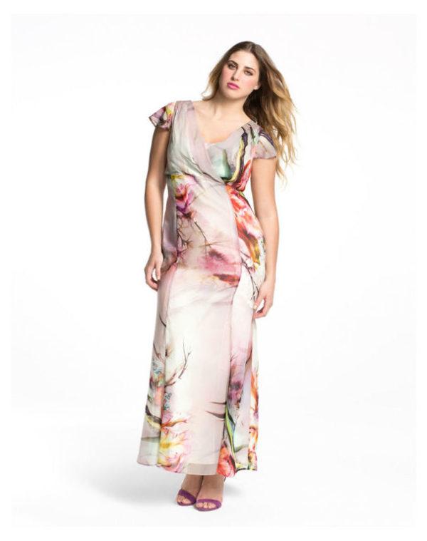Vestidos con estampados floreados cortos