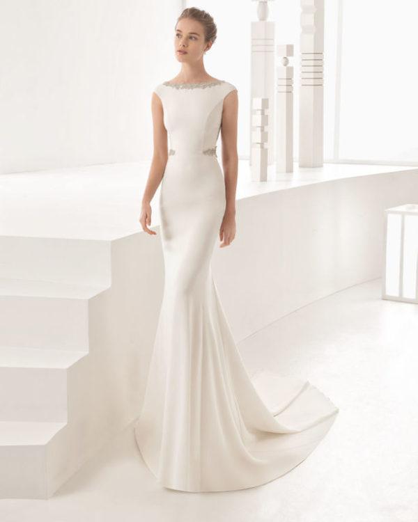 vestidos de novia corte sirena primavera verano 2019 - modaellas