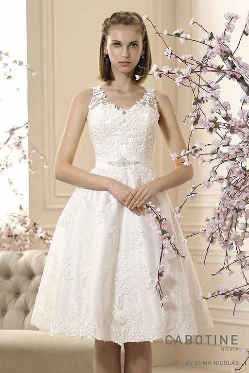 vestidos de novia cortos zaragoza – vestidos elegantes 2019