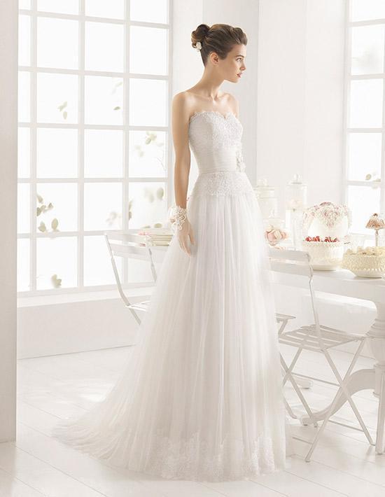 el catálogo de vestidos de novia de el corte inglés primavera verano