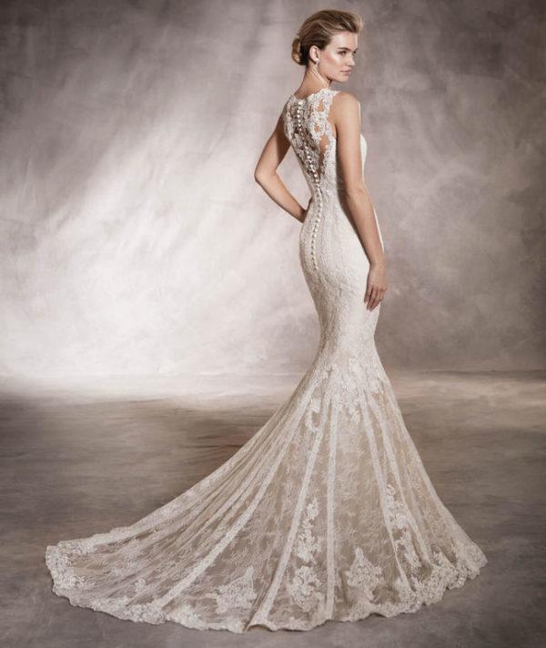 el catálogo de vestidos de pronovias 2019 - modaellas