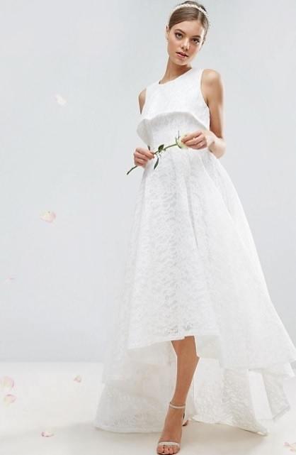 Los vestidos de novia sencillos Primavera Verano 2018 - ModaEllas.com