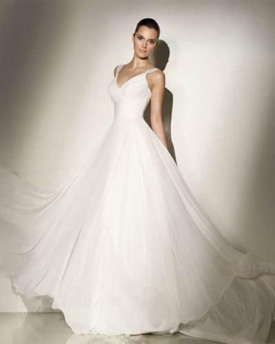 Vestidos de novia primavera verano