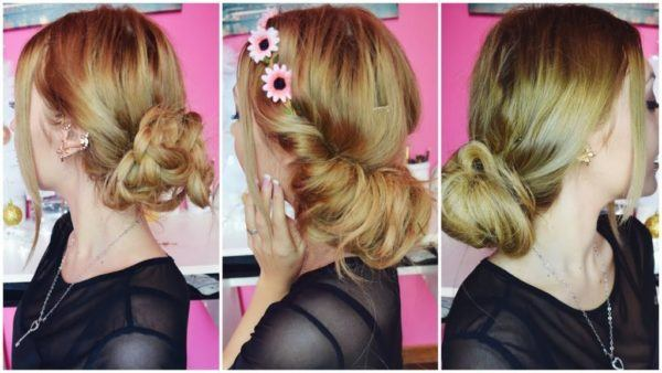 Hairstyles-for-san-valentin-collected-with-flowers