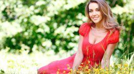 El maquillaje perfecto para un vestido rojo