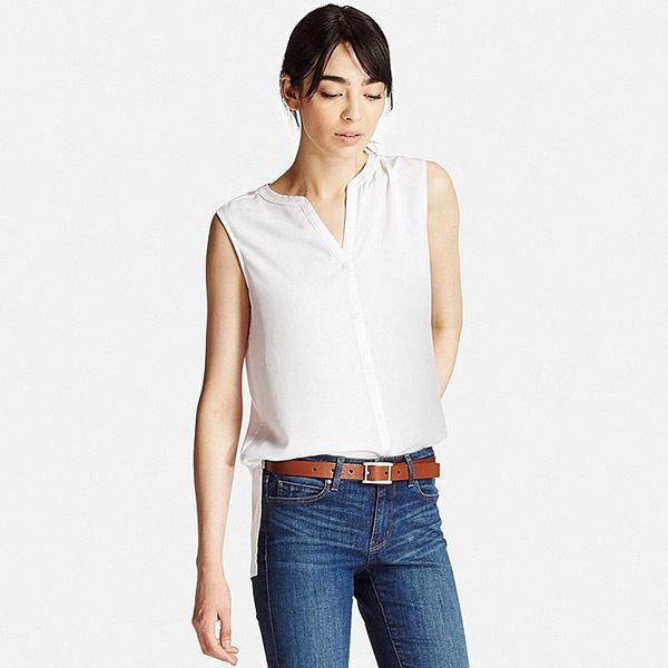 Catálogo de camisas y blusas Uniqlo Primavera Verano 2017