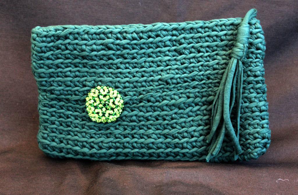 Cómo hacer bolsos de trapillo paso a paso: Patrones y materiales ...