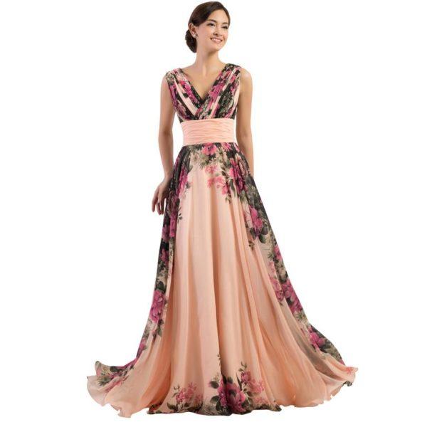 5343a6e337 Los patrones de vestidos largos son muchos y tu elección debe basarse en el  tipo de evento al que quieres asistir.