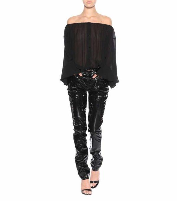 Catálogo, ropa, Otoño-Invierno 2017/2018 Yves Saint Laurent, ropa para mujer.