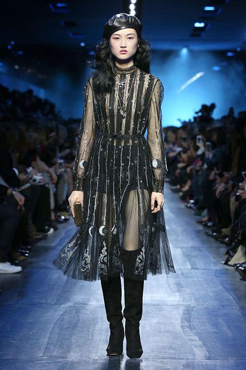 Desfile Christian Dior Otoño-Invierno 2017/2018 Prendas, ropa, para mujer