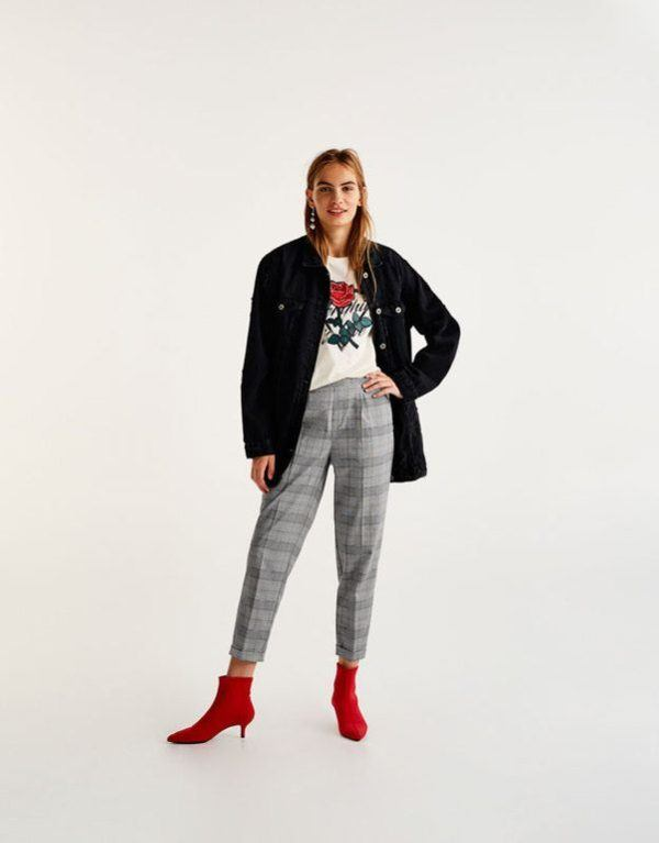 Catálogo Pull and Bear, ropa para chica, mujer, low cost
