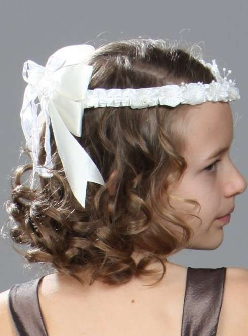 Peinados para primera comunion pelo corto