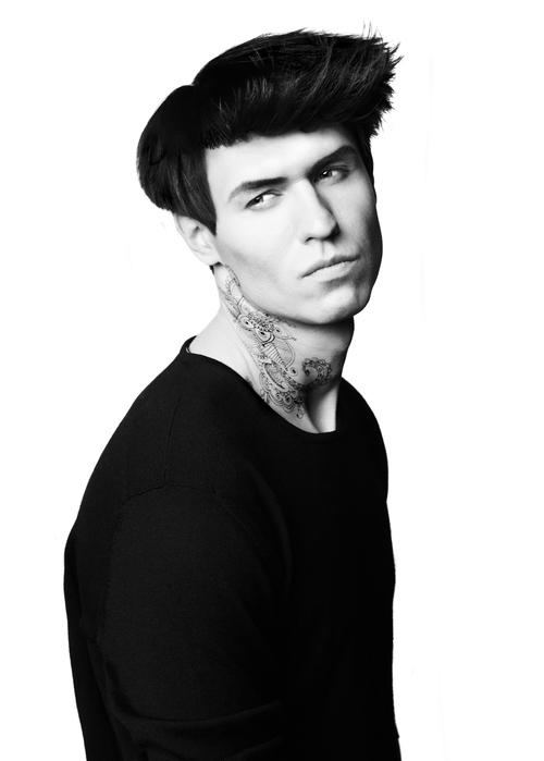 Tatuajes cuello hombre
