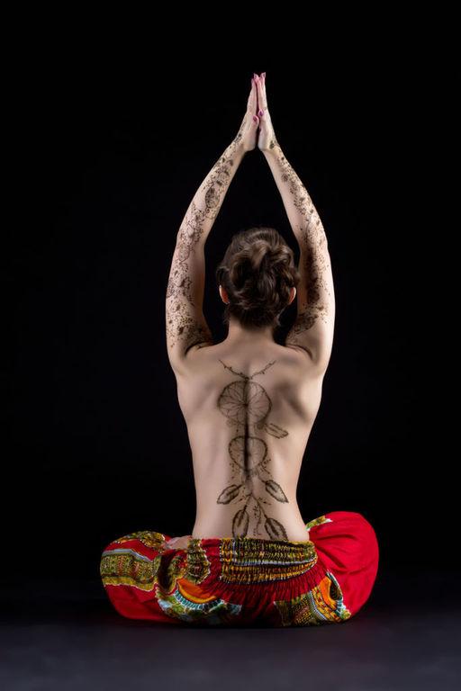 Tatuajes de atrapasuenos grandes espalda completa