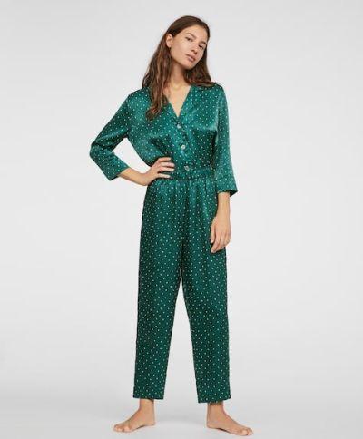 catalogo-oysho-para-mujer-pijama-green-dots