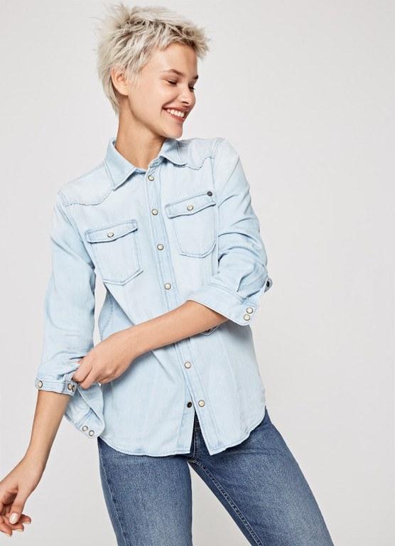 catalogo-pepe-jeans-camisa-denim-rosie