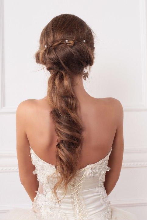 Peinados de novia modernos y sencillos