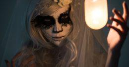 Pintura para halloween 2017 – cara, cuerpo, colores y fotos