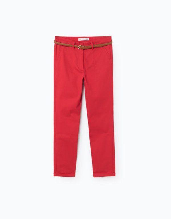 91b31618cb ... rojo para aportar algo de color a la Primavera Verano. Son sencillos