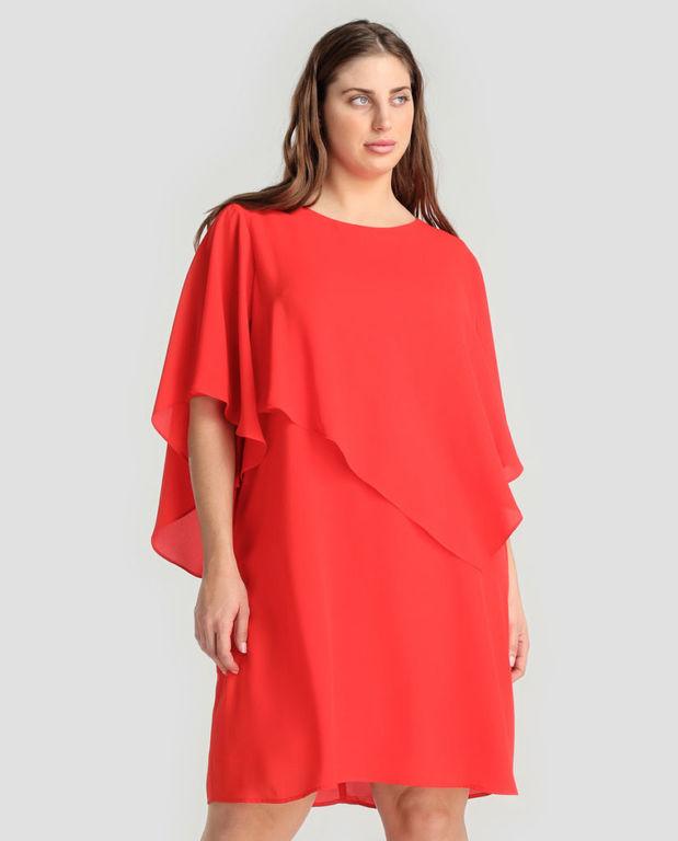 Vestidos de fiesta largos para gorditas color coral