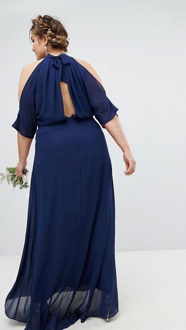 Modelos de vestidos de fiesta talla xl