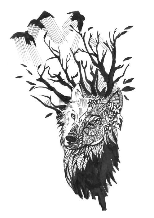Catalogo De Tatuajes los mejores diseños de tatuajes de lobos 2019 - modaellas