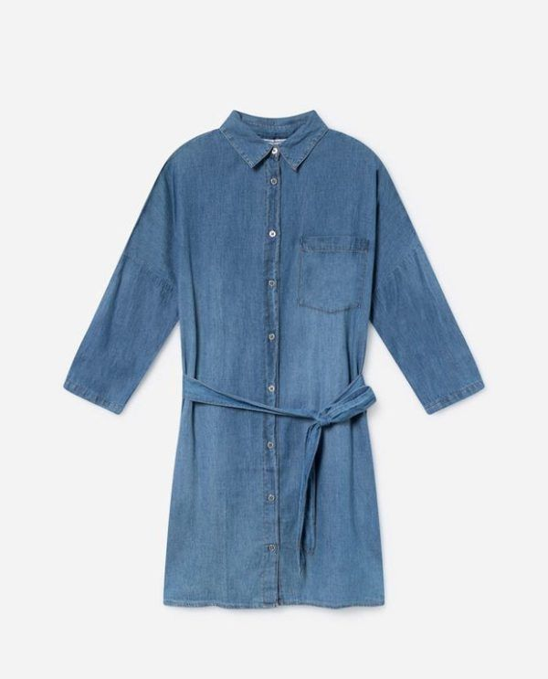 """9781b58eea El vestido de punto con botones y en color """"nude"""" o neutro es otro modelo  de vestido que no os puede faltar en esta temporada. Lefties los tiene  además a un ..."""