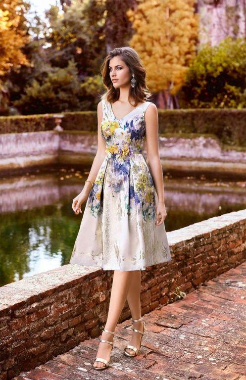 los vestidos de madrina para verano 2018