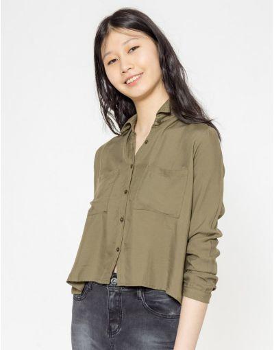 catalogo-shana-para-mujer-camisa-cropped-bolsillos