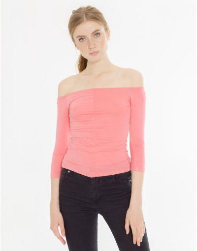 catalogo-shana-para-mujer-camiseta-top-mesonera-frunce