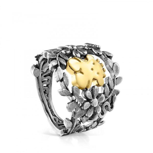 c5b4d2b12aa0 Otro modelo de anillo de Tous que destaca dentro del nuevo catálogo de la  firma para la temporada de Primavera Verano 2019 es este que os mostramos a  ...