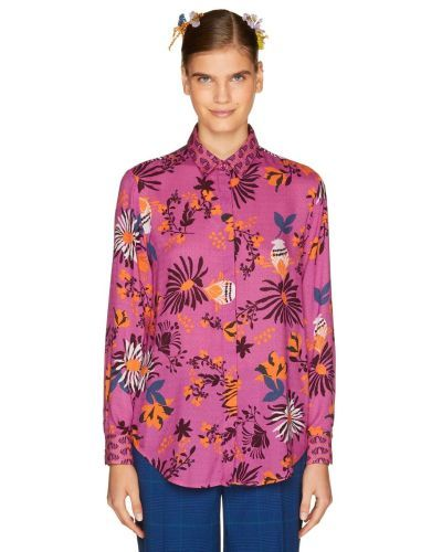 catalogo-united-colors-of-benetton-para-mujer-camisa-estampada