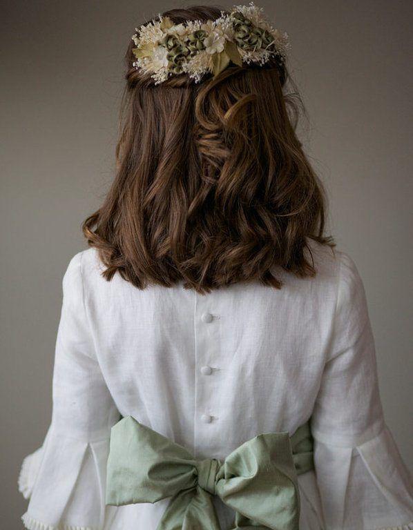 Perfecto peinados comunión Galeria De Cortes De Pelo Tendencias - Peinados de Primera Comunión 2018 - ModaEllas.com