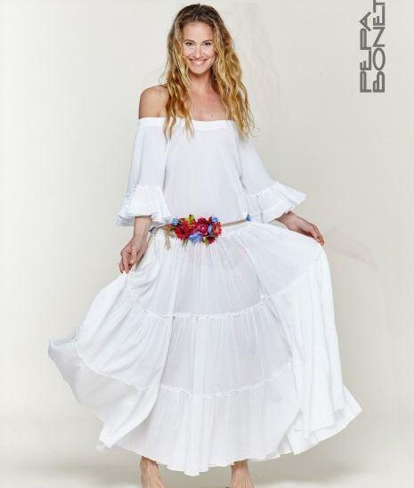 Vestidos De Novia Ibicencos 2018 2019 Modaellascom - Vestidos-ibicenco