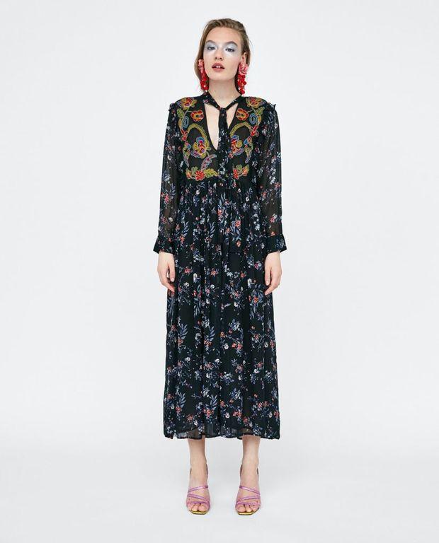 Vestidos para ir de comunion zara