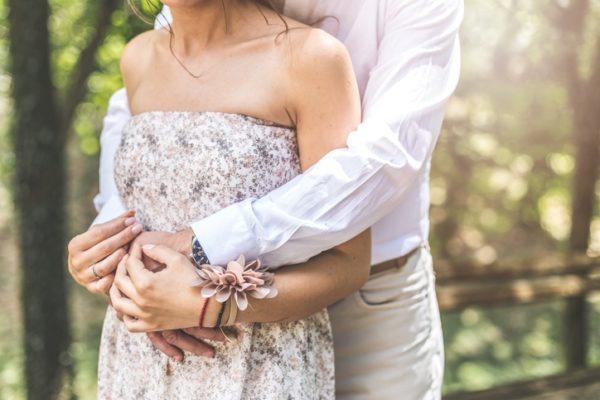 Vestido de novia embarazada para boda civil