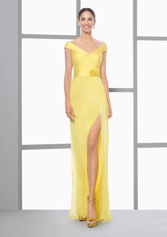 Vestidos Largos Amarillos 2018 Sale 77d6f Df919
