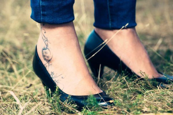 El precio del tatuaje segun la zona pies